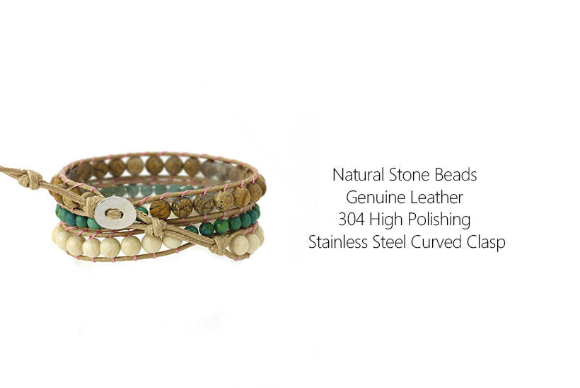TTT Jewelry Brand blue japanese curved shop fashion bracelets
