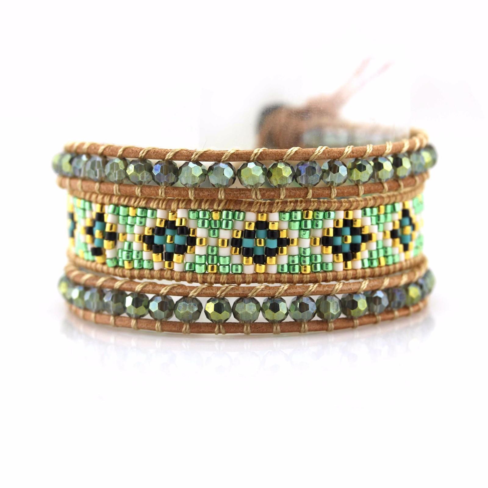 shop fashion bracelets stone handcrafted chan luu wrap bracelet TTT Jewelry Warranty