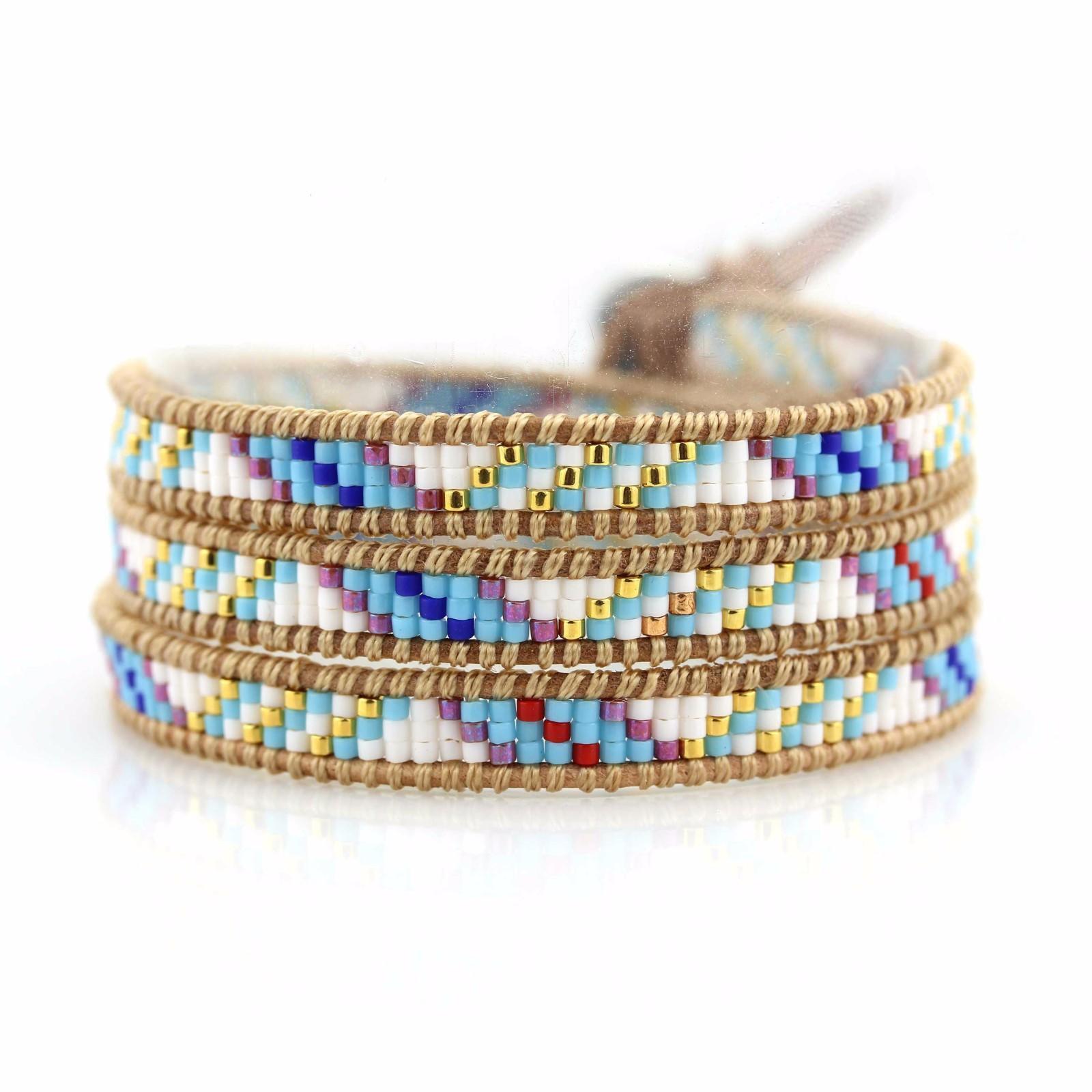 Hot shop fashion bracelets miyuki chan luu wrap bracelet wrap TTT Jewelry