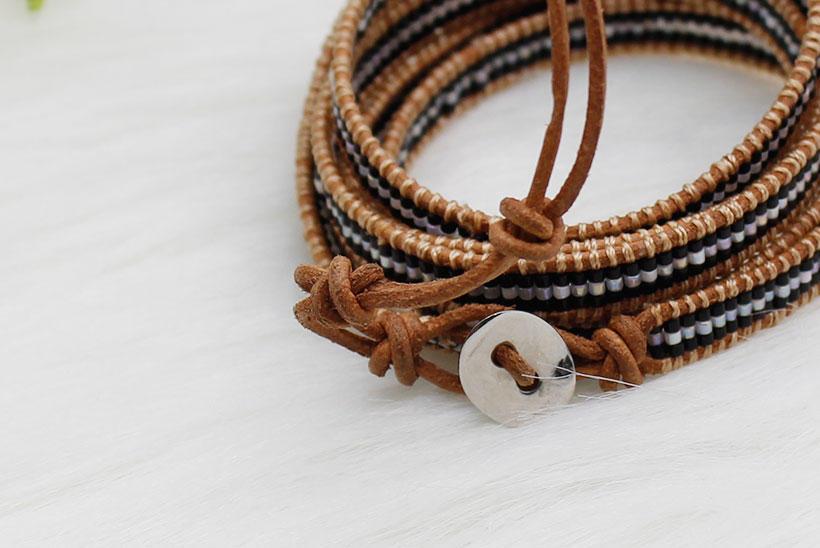TTT Jewelry wrap boho wrap bracelet miyuki bead