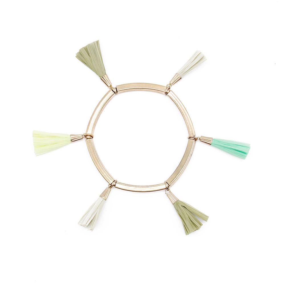 Wholesale tassel raffia raffia bracelets TTT Jewelry Brand