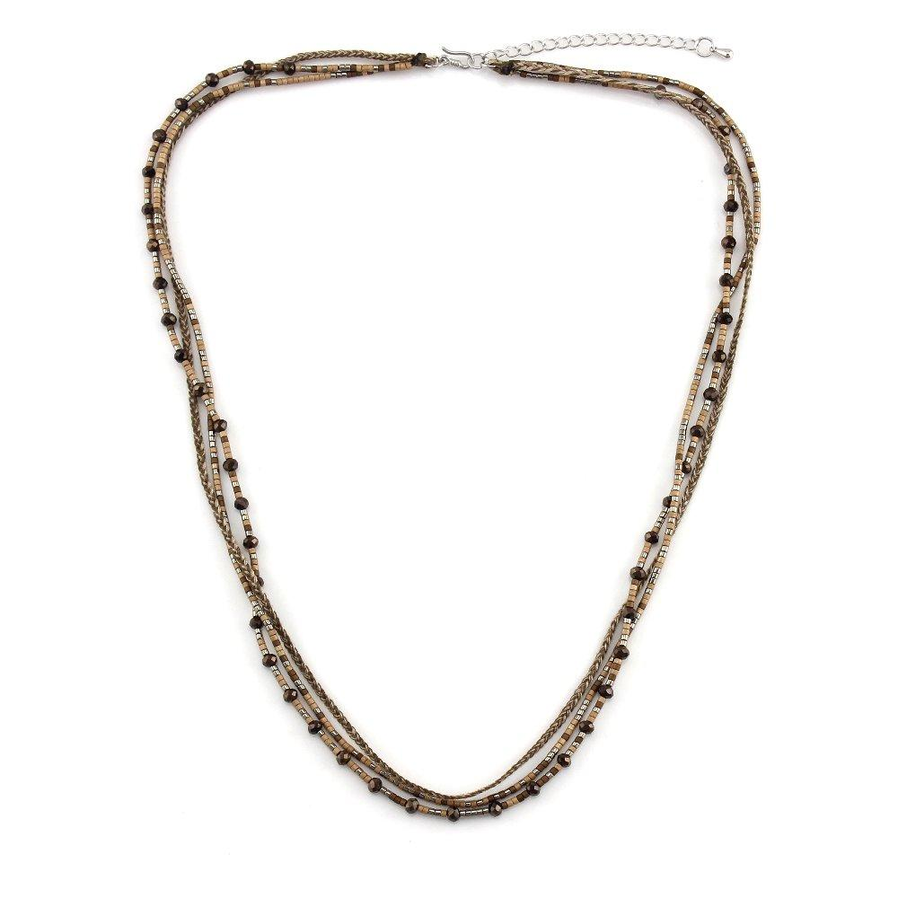 OEM fashion jewelry necklaces multi bracelet miyuki miyuki necklace