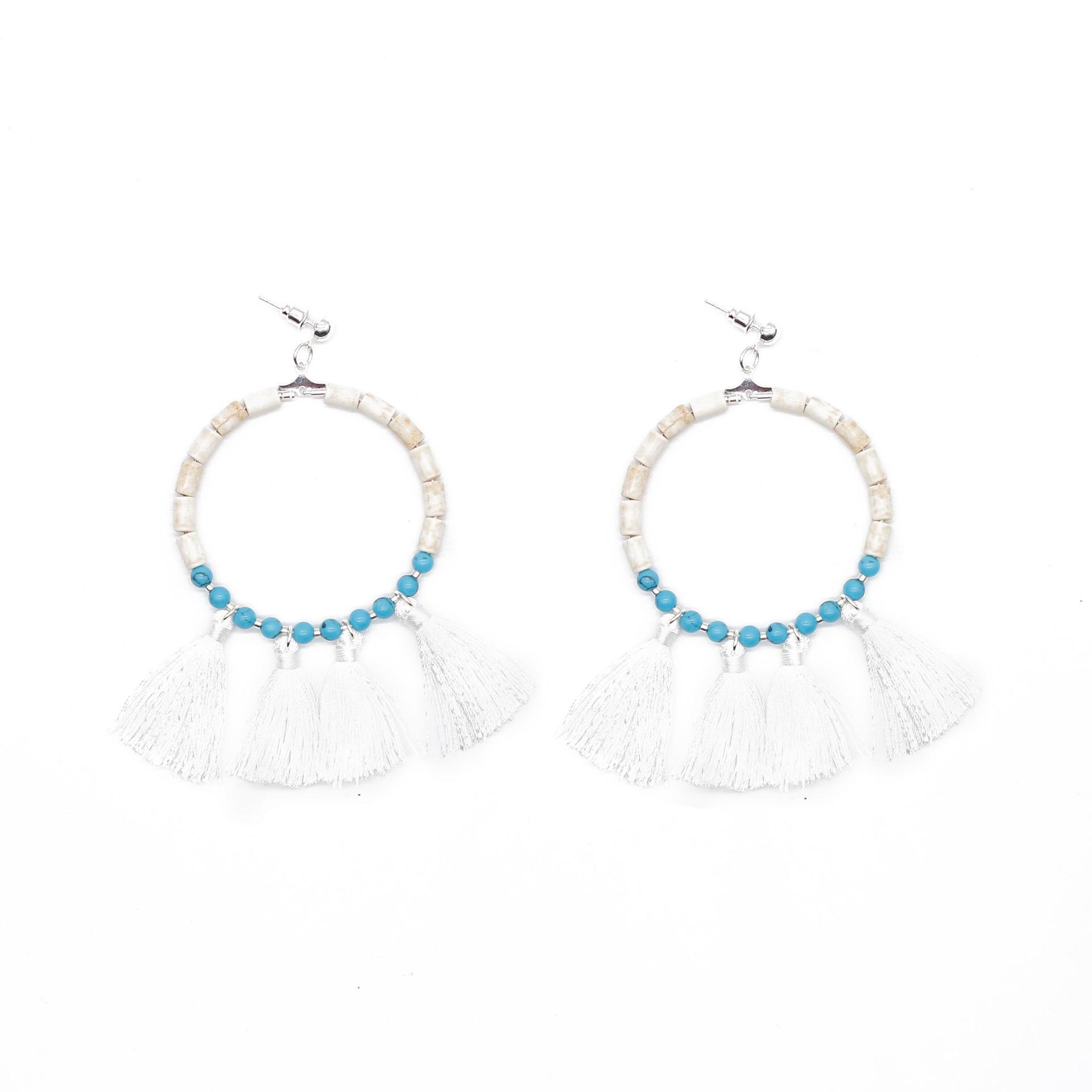 Custom handmade boho earrings boho TTT Jewelry
