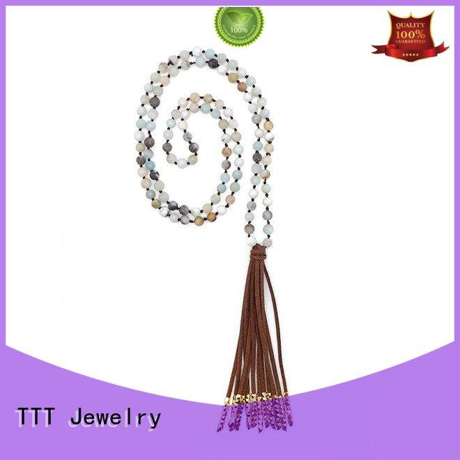 TTT Jewelry tassel handmade handcrafted bridal necklace velvet