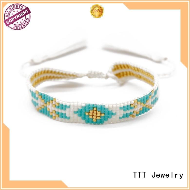 TTT Jewelry Brand health miyuki design simple bracelet miyuki