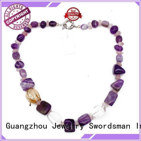 beads handmade TTT Jewelry rhinestone necklace
