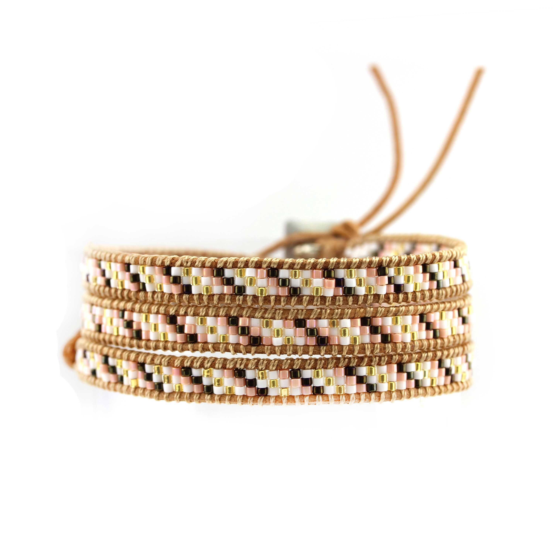 TTT Jewelry Japanese Miyuki Seed Beads Wrap Handcrafted Bracelet 3 Wraps image10