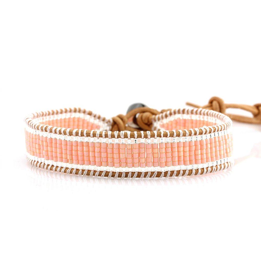 TTT Jewelry Japanese Miyuki Seed Beads Simple Wrap Handmade Bracelet 1 Wrap image6