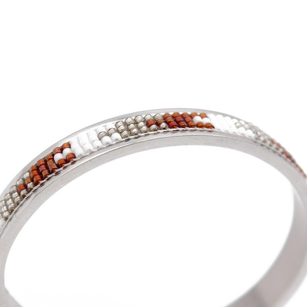Magnetic Health Cuff Handmade Bracelet with Miyuki Beads