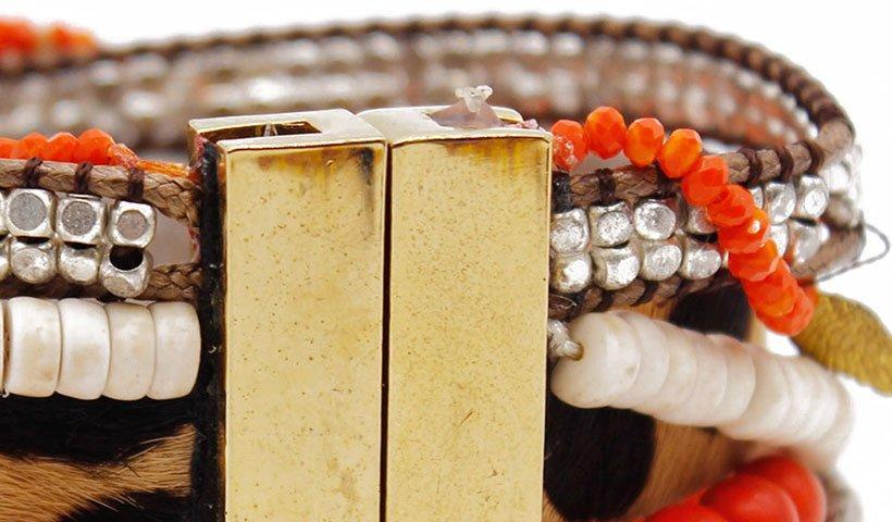 Wholesale handcrafted tassel magnetic bracelet TTT Jewelry Brand