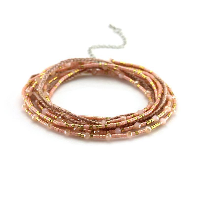 TTT Jewelry miyuki necklace tassel strand handmade beads