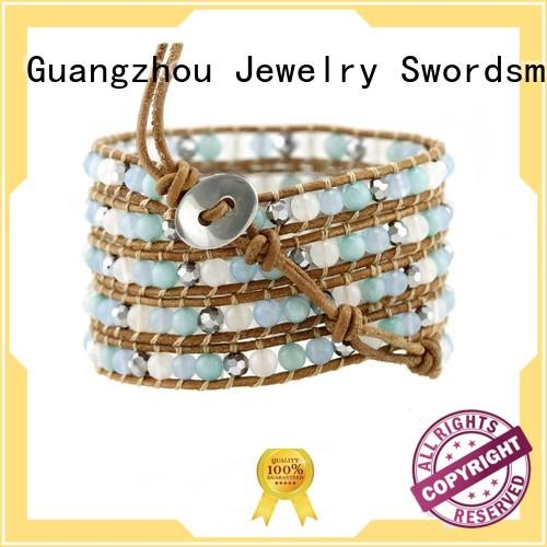 beads Custom japanese light boho wrap bracelet TTT Jewelry natural