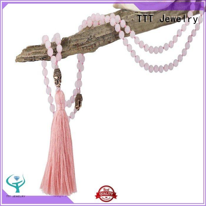 TTT Jewelry designer necklaces stone necklace handcrafted parts