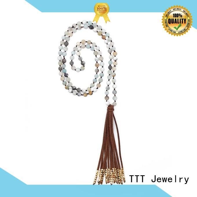 TTT Jewelry Brand handmade tassel custom bridal necklace
