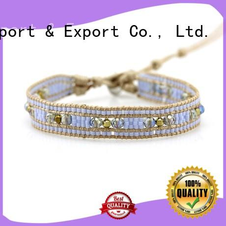 TTT Jewelry Brand japanese how to make a wrap bracelet crystal supplier