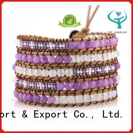 TTT Jewelry highly recommend triple wrap bracelet international market for sale