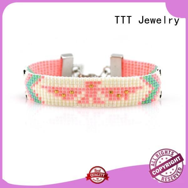 yellow knot lobster bracelet miyuki TTT Jewelry