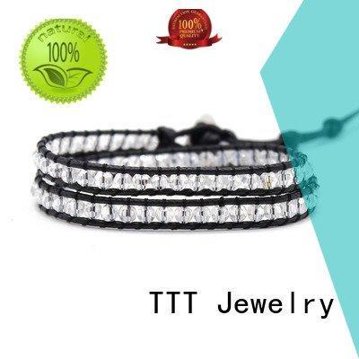 square red clasp wrap around bracelets TTT Jewelry