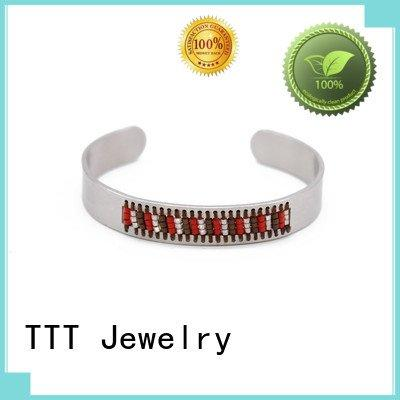 permanent bracelet stainless steelTTT Jewelry Brand