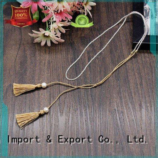 fashion jewelry necklaces handmade seed TTT Jewelry Brand