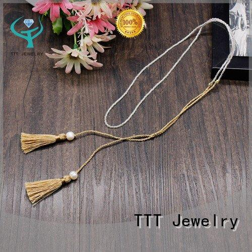 Hot fashion jewelry necklaces bracelet miyuki necklace tassel TTT Jewelry