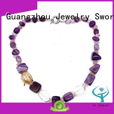 lapis rhinestone necklace yoga for wholesale TTT Jewelry