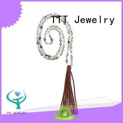 beads metal TTT Jewelry bridal necklace