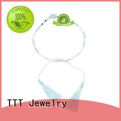 cuff bracelet miyuki beads jade TTT Jewelry