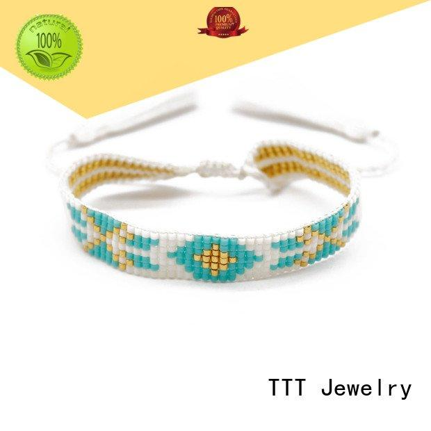 TTT Jewelry Brand lobster custom bracelets for her hollowedout seed