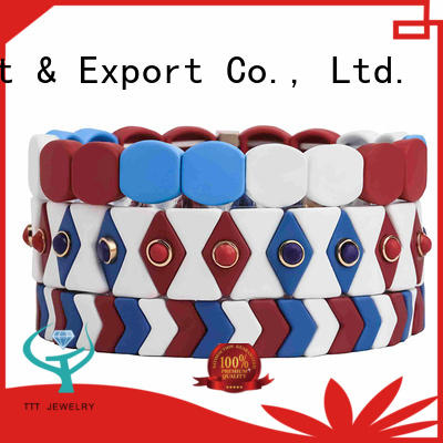 TTT Jewelry eco-friendly hermes enamel bangle awarded supplier for small business
