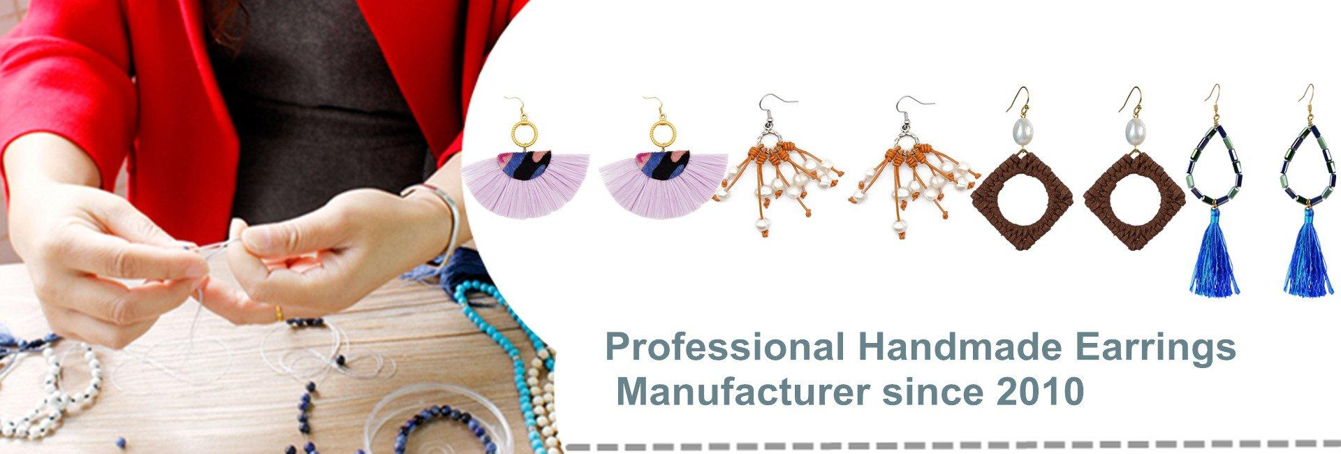 Handmade Earrings Manufacturer