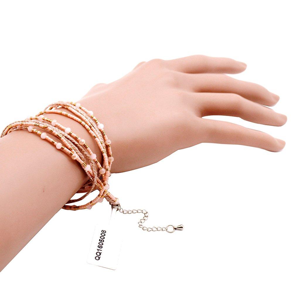 TTT Jewelry Multi Strand Miyuki Handmade Necklace / Bracelet Miyuki Necklace image16
