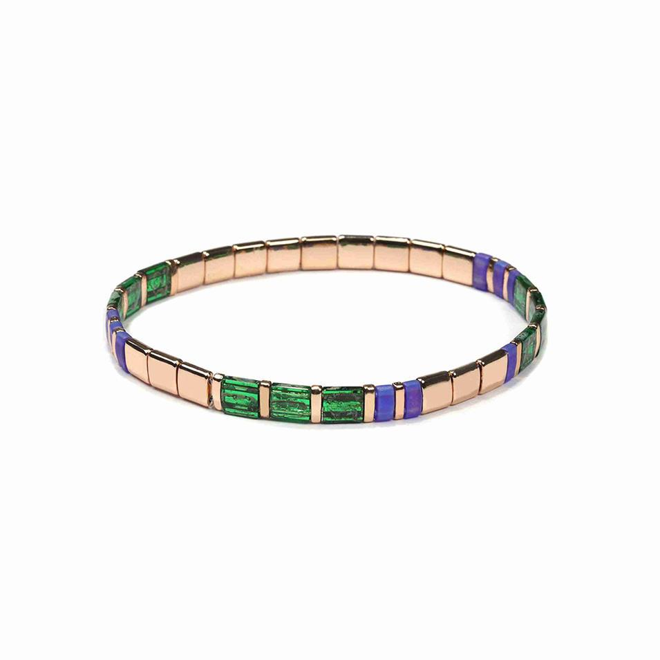 China Luxury Mix Color Bohemia Jewelry Miyuki Women Bracelet Pulsera Mujer