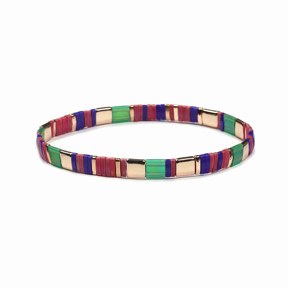 Hot sale Wholesale Tila Bead Bracelet Fashion Custom Women Jewelry