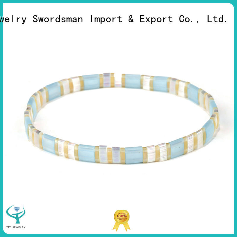 TTT Jewelry fashion beaded wrap bracelet inquire now for sale