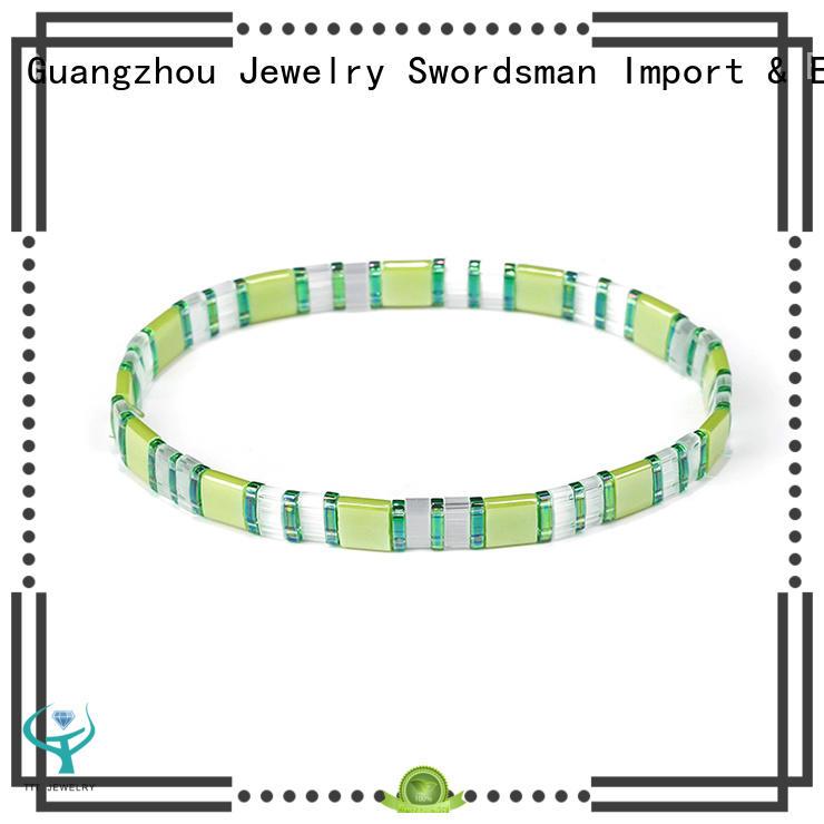 crystal handmade bead bracelets wholesale for gift