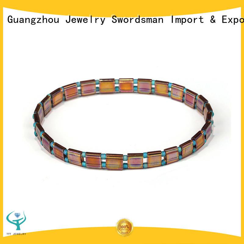 TTT Jewelry tila beads free patterns awarded supplier for female