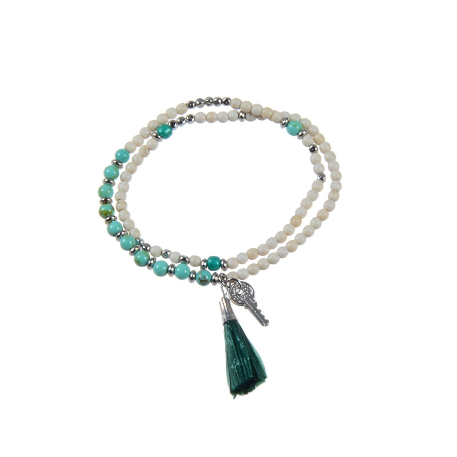 stone bracelet designs eye brown TTT Jewelry Brand