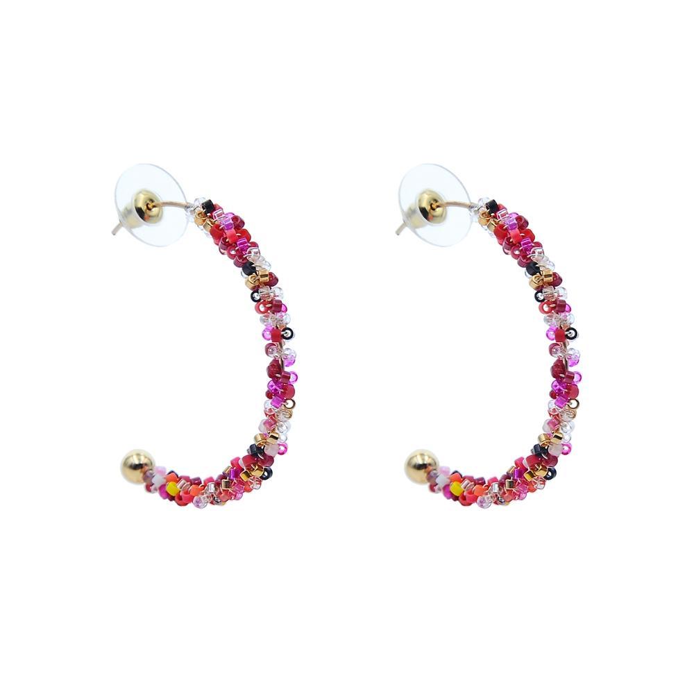 Wholesale crystal blue stone earrings stone TTT Jewelry Brand