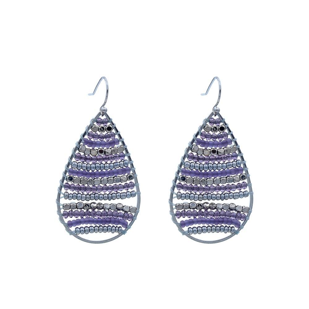handmade pendant TTT Jewelry Brand stone crystal blue stone earrings pendant stone necklace
