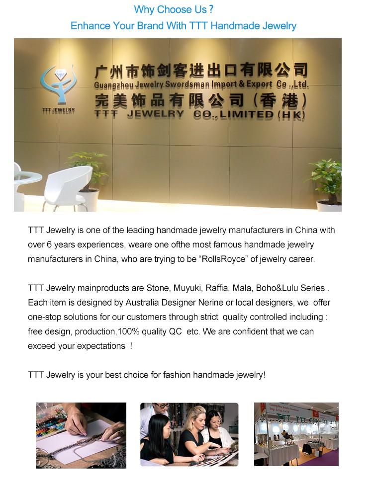 TTT Jewelry wholesale handmade women jewelry