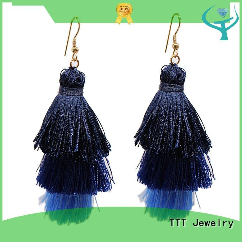 tassel earrings women TTT Jewelry tassel earrings