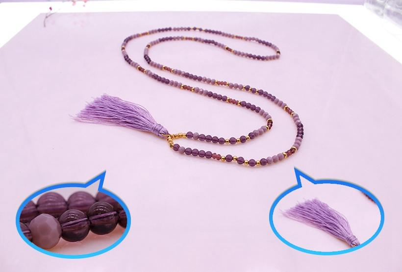 customized amethyst jewelry In stock international market for various occasions-1