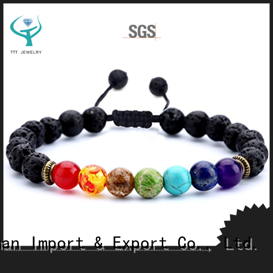 TTT Jewelry women chakra diffuser bracelet wholesaler trader for trader