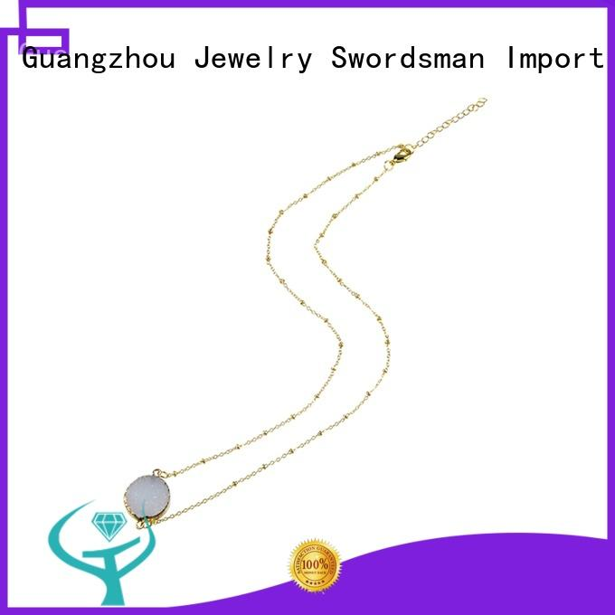 most popular necklace stainless export worldwide for retailer