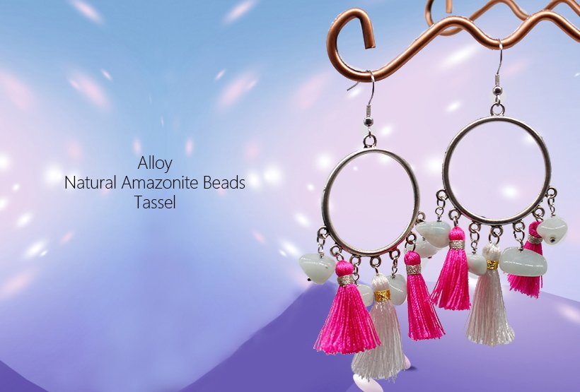 Handmade Jewelry Accessories Gorgeous Hoop Earrings