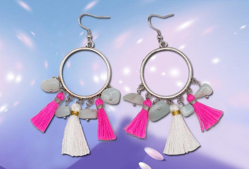 handmade hoop TTT Jewelry hoop earrings
