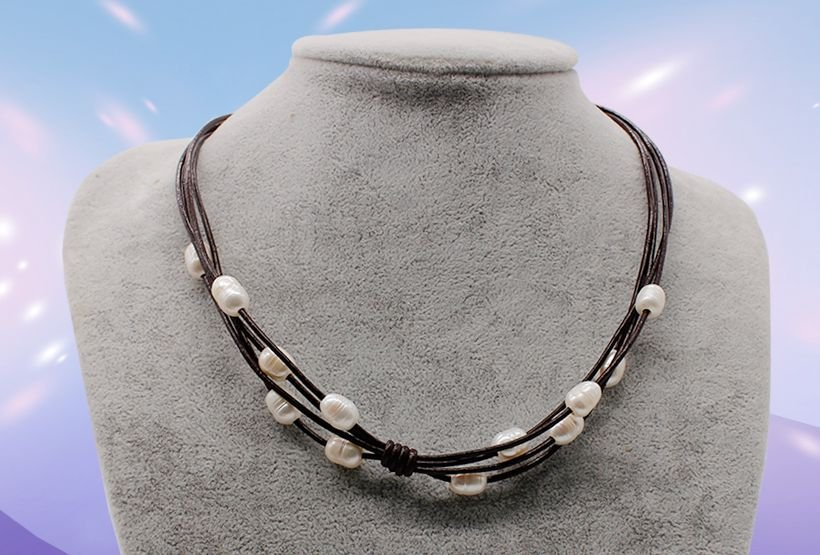 Wholesale Fashion Jewelry Chokers Pearl Necklace