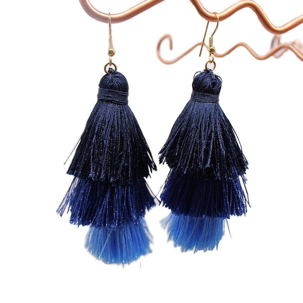 Bohemian 3-in-1 Tassel Earrings