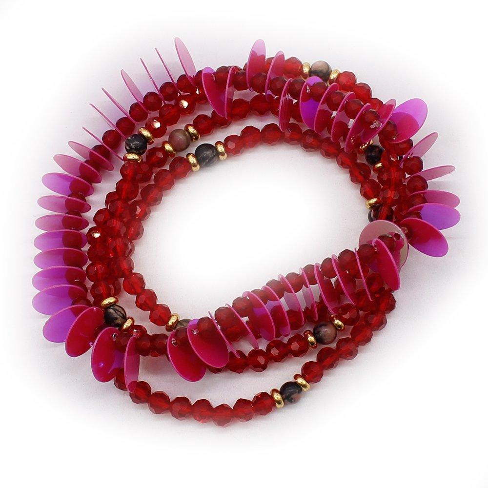 Sequins Elastic Kids Funny Bracelets